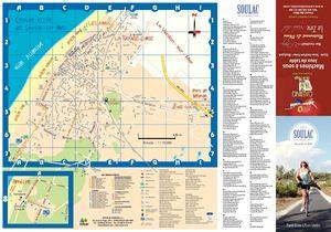 Calam o plan de soulac sur mer et des pistes cyclables du m doc - Office du tourisme soulac ...