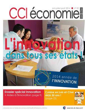 CCI économie (revue)  : le magazine de la Chambre de Commerce et d'Industrie de Loir-et-Cher | Debats, René-Marc. Directeur de publication