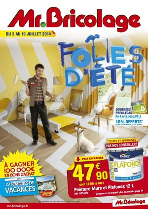Calam o mr bricolage catalogue et 2014 16 pages for Catalogue jardin 2015 mr bricolage