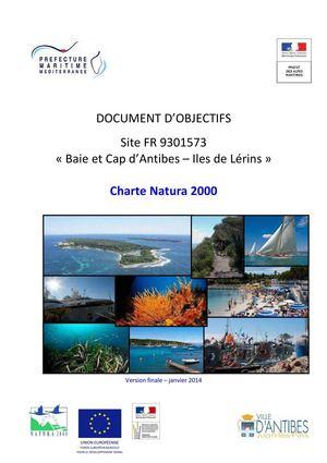 Charte Natura 2000 du site d'Antibes