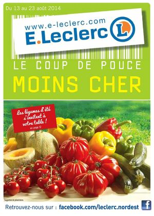 Calam o catalogue e leclerc r4 for Catalogue e leclerc jardin