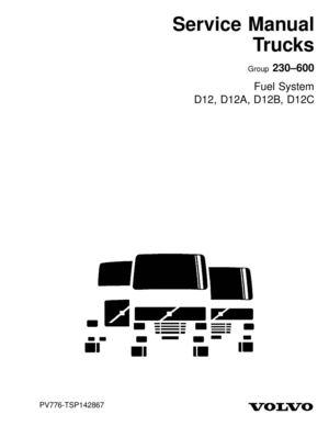 calaméo volvo fuel system d12 d12a d12b d12c volvo fuel system d12 d12a d12b d12c
