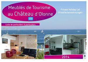 Calam o liste des meubl s de tourisme au ch teau d 39 olonne pour 2014 - Office tourisme chateau d olonne ...