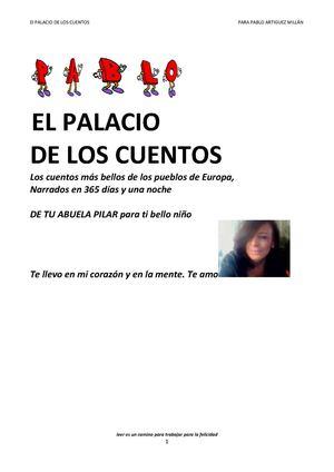 el palacio de los cuentos para Pablo Artiguez