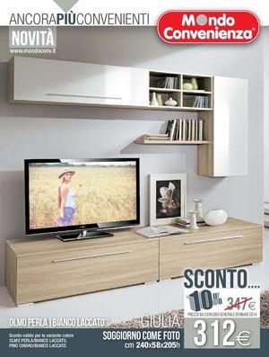 calaméo - catalogo mondo convenienza soggiorno 2014 - Mobili Televisione Mondo Convenienza