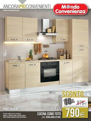 Calam o catalogo mondo convenienza cucine 2014 for Cucine bloccate prezzi