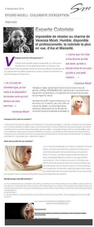 la coloriste la plus en vue daix et marseille - Coloriste Marseille