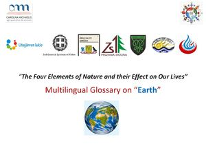Multilingual Glossary On Earth By All The Partner Comenius Schools