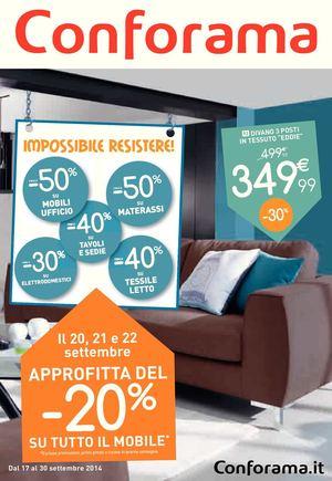 Calaméo - Volantino Conforama 17-30 settembre