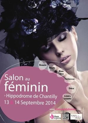 Calam o guide du salon de la femme 2014 for Hippodrome de salon