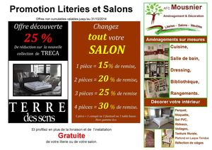 calam o promotion salon literie afc mousnier nonancourt 27. Black Bedroom Furniture Sets. Home Design Ideas