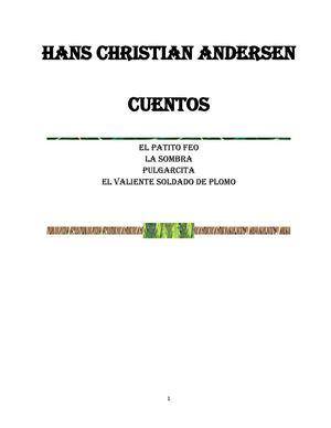 HANS C ANdersen  CUENTOS