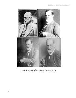 15_SIGMUND FREUD Inhibición Síntoma Y Angustia