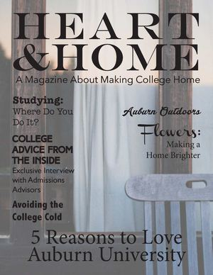 Heart &Home: A Magazine About Making College Home