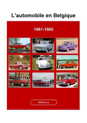 Calam o l 39 automobile en belgique 1961 1965 - Garage automobile en belgique ...