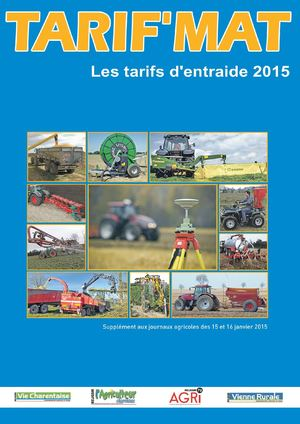 Calam o tarif mat 2015 - Chambre agriculture poitou charentes ...