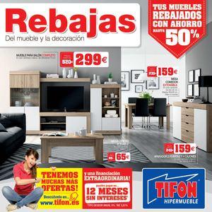 Calam o rebajas del mueble enero 2015 en tifon hipermueble for Tifon muebles salon