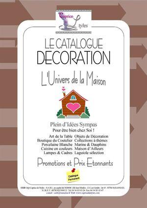 Calaméo - Catalogue Décoration L'Univers De La Maison