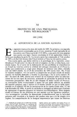 25_SIGMUND FREUD Proyecto de una psicología para neurólogos