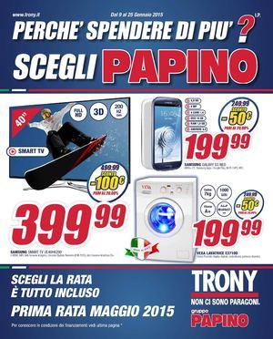 Tavoli mediaworld volantino papino trony for Papino arreda