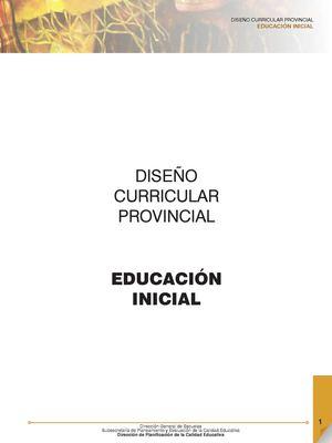 Calam o dise o curricular nivel inicial 2015 for Diseno curricular para el nivel inicial
