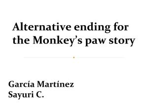 the alternate ending to the monkeys Find alternate ending lesson plans and teaching resources from alternate ending rubric worksheets to write an alternate ending videos, quickly find teacher-reviewed educational resources.