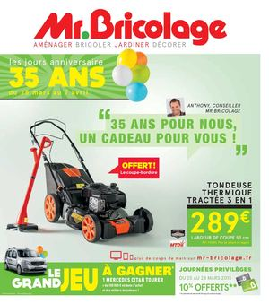 Calam o catalogue e5 anniversaire 1 version 16 pages for Guide jardin 2015 mr bricolage
