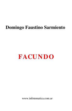 Domingo Faustino Sarmiento_FACUNDO