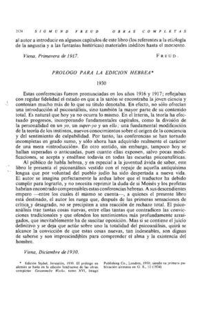 00_SIGMUND FREUD_UN PRÓLOGO A LA EDICIÓN HEBREA 1930