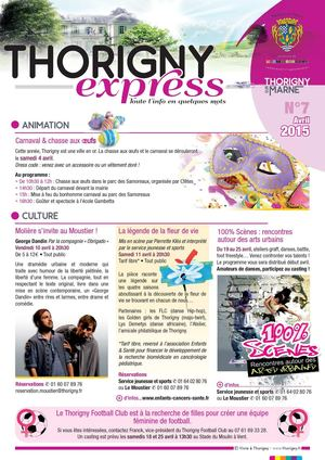 Thorigny Express n°7 avril 2015