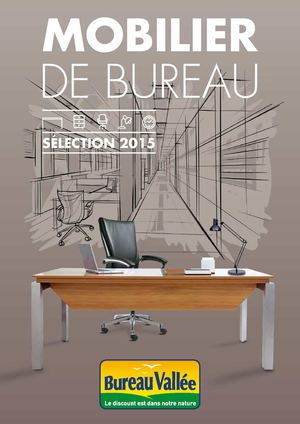 Calam o catalogue mobilier bureau vall e 2015 for Catalogue de bureau