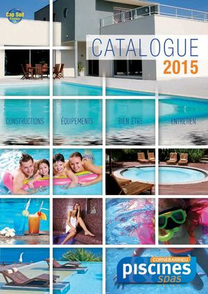 Catalogue Cornebarrieu Pisicines 2015
