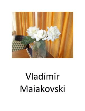 Vladímir Maiakovski Seleccion Poemas