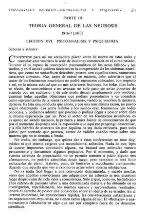 INTRODUCCIÓN AL PSICOANÁLISIS_Lección16 Neurosis (1)psicoanálisisypsiquiatría