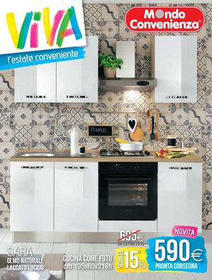 Calaméo - Catalogo Mondo Convenienza Estate Cucine 2015