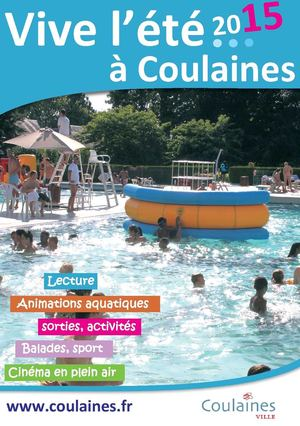 Calam o vive l 39 ete 2015 a coulaines for Piscine de coulaines