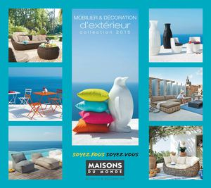 calam o catalogo maisons du monde outdoor 2015. Black Bedroom Furniture Sets. Home Design Ideas
