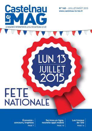 CastelnauMag n°160 Juillet/août 2015