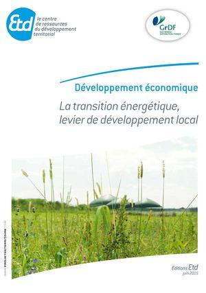 Guide Etd | La transition énergétique levier de développement local