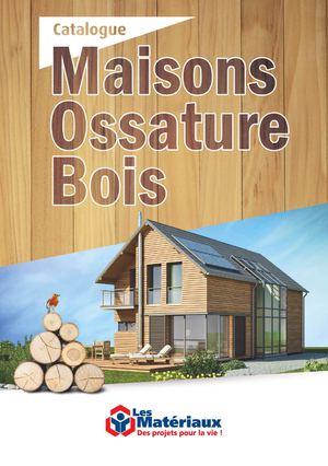 Calam o maisons ossature bois 2014 - Epaisseur mur maison ossature bois ...