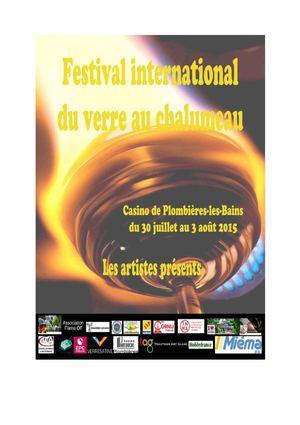 Festival International du Verre au Chalumeau