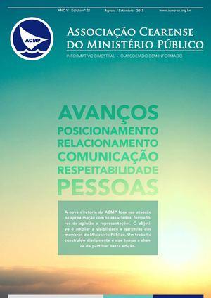 ANO V - Edição nº 25 Agosto/Setembro - 2015