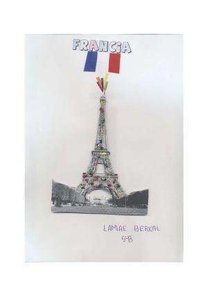 Francia. Hecho por Lamiae Berkal