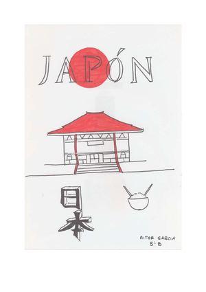 Japón. Libro hecho por Aitor García