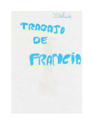 Francia. Trabajo hecho por Nabila Taouati