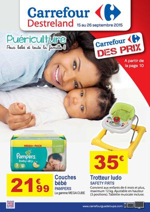Calam o carrefour catalogue puericulture - Carrefour promotion couches pampers ...