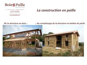 Calam o conf rence paille construction paille salon bois for Salon construction bois