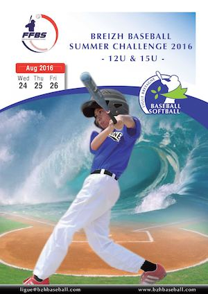 Breizh Baseball Summer Challenge 2016 English