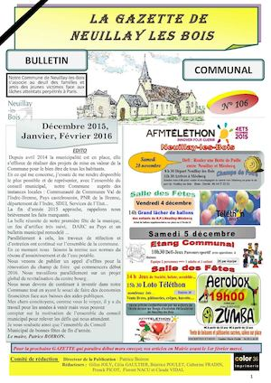 La Gazette De Neuillay