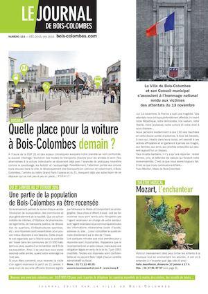 Calaméo - Journal de Bois-Colombes JBC 114 - Déc 2015/Jan 2016